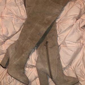 Aldo knee high boots! Worn once!